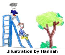 Hannah Kids Slide